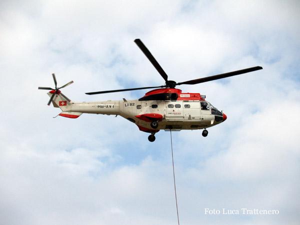 Elicottero Puma : Super puma a recoaro mille