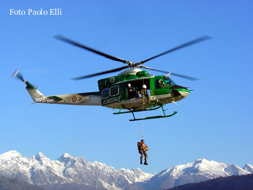 Elicottero Forestale : Corpo forestale dello stao