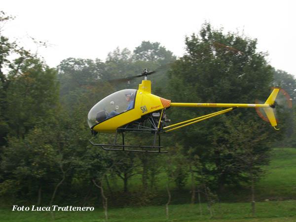 Elicottero Monoposto : Novaleconleale foto ° eliraduno