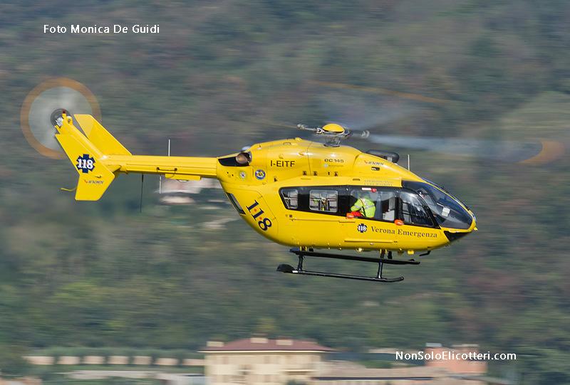 Elicottero 118 Modello : Ec verona emergenza in azione