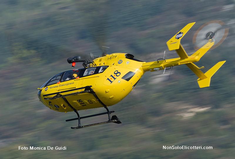Elicottero 8 Posti : Ec verona emergenza in azione